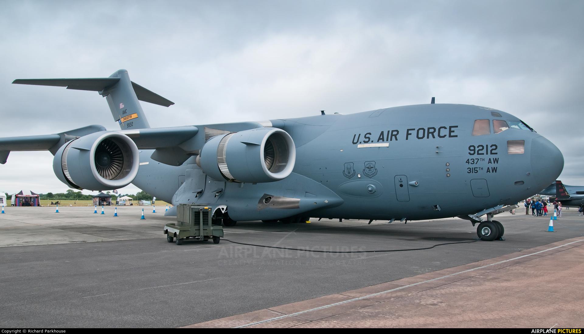 USA - Air Force 09-9212 aircraft at Fairford