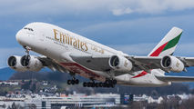 A6-EUB - Emirates Airlines Airbus A380 aircraft
