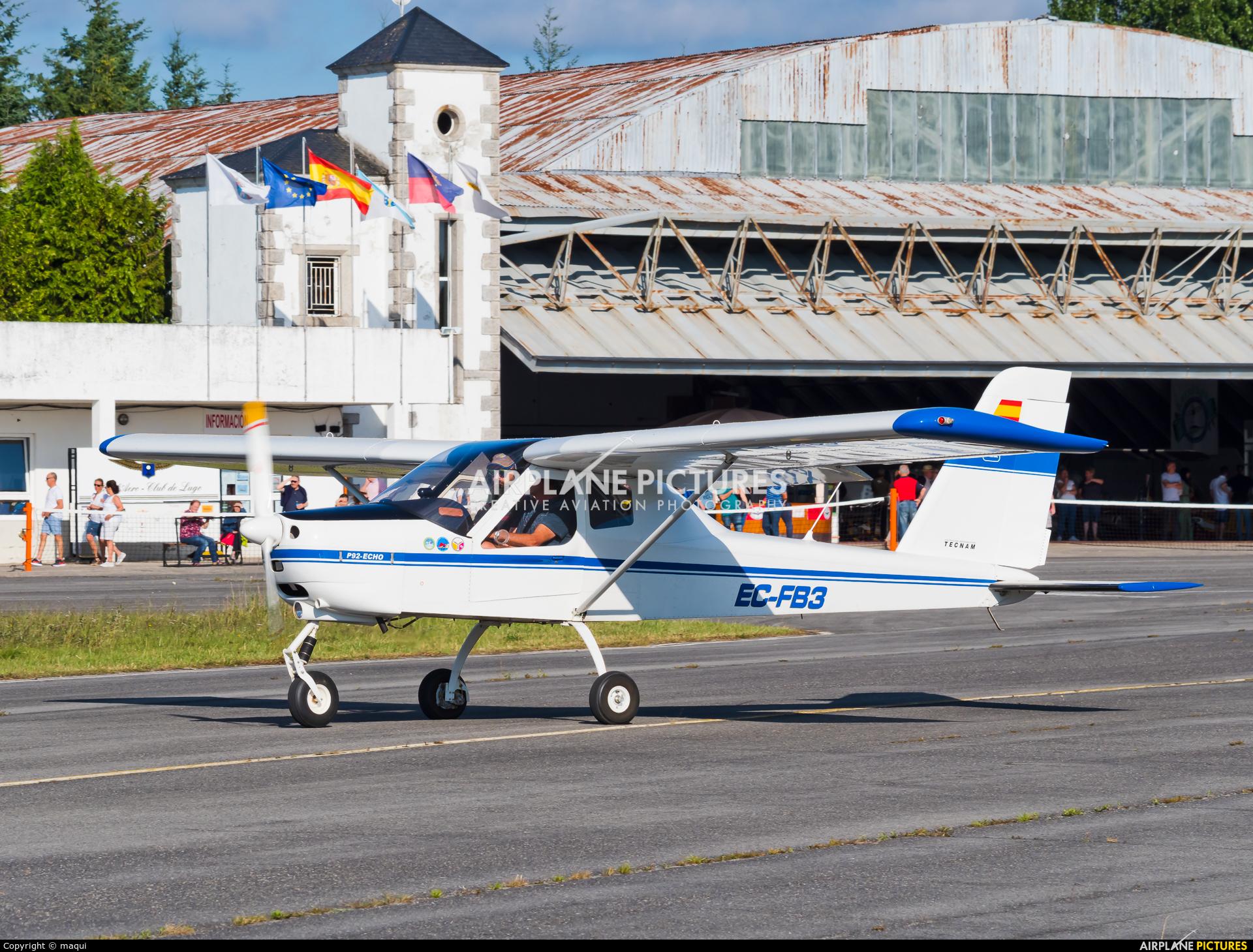 Private EC-FB3 aircraft at Lugo - Rozas