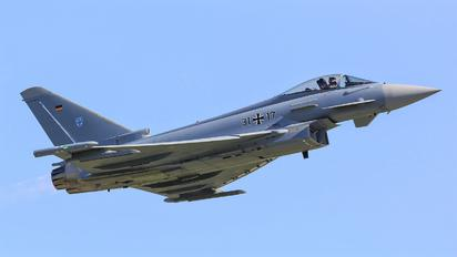 31+17 - Germany - Air Force Eurofighter Typhoon S