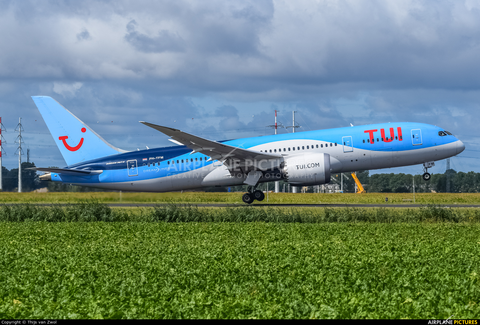 TUI Airlines Netherlands PH-TFM aircraft at Amsterdam - Schiphol