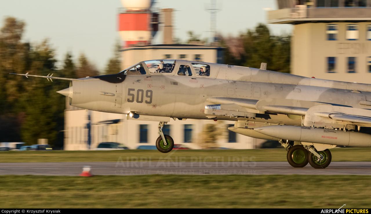 Poland - Air Force 509 aircraft at Świdwin