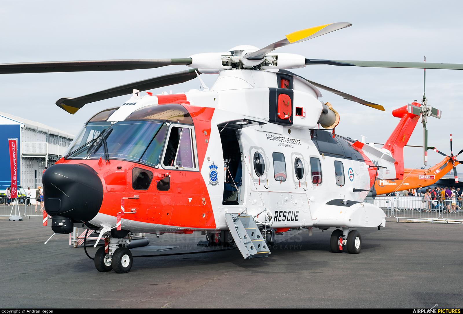 Norway - Royal Norwegian Air Force ZZ105 aircraft at Farnborough