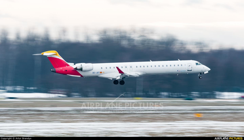 Air Nostrum - Iberia Regional EC-JZT aircraft at Kraków - John Paul II Intl