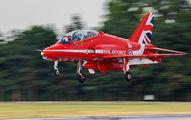 "- - Royal Air Force ""Red Arrows"" British Aerospace Hawk T.1/ 1A aircraft"