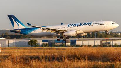F-HZEN - Corsair / Corsair Intl Airbus A330-300