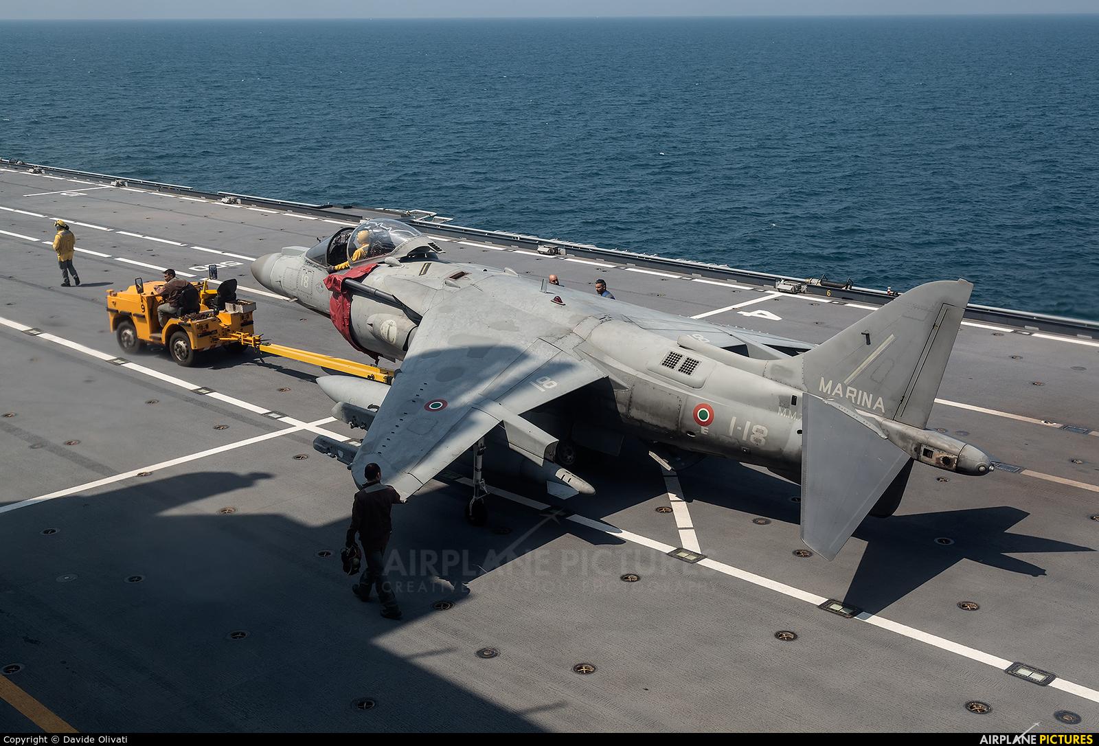 Italy - Navy MM7223 aircraft at Off Airport - Italy