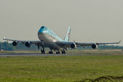 HL7492 - Korean Air Boeing 747-400 aircraft
