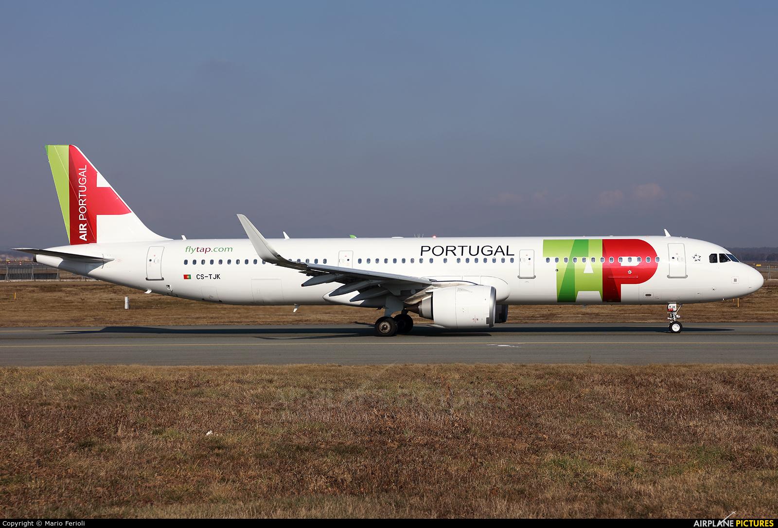TAP Portugal CS-TJK aircraft at Milan - Malpensa