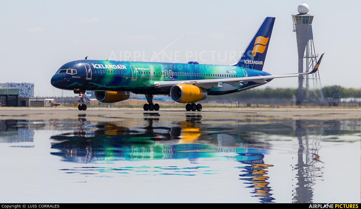 Icelandair TF-FIU aircraft at Amsterdam - Schiphol