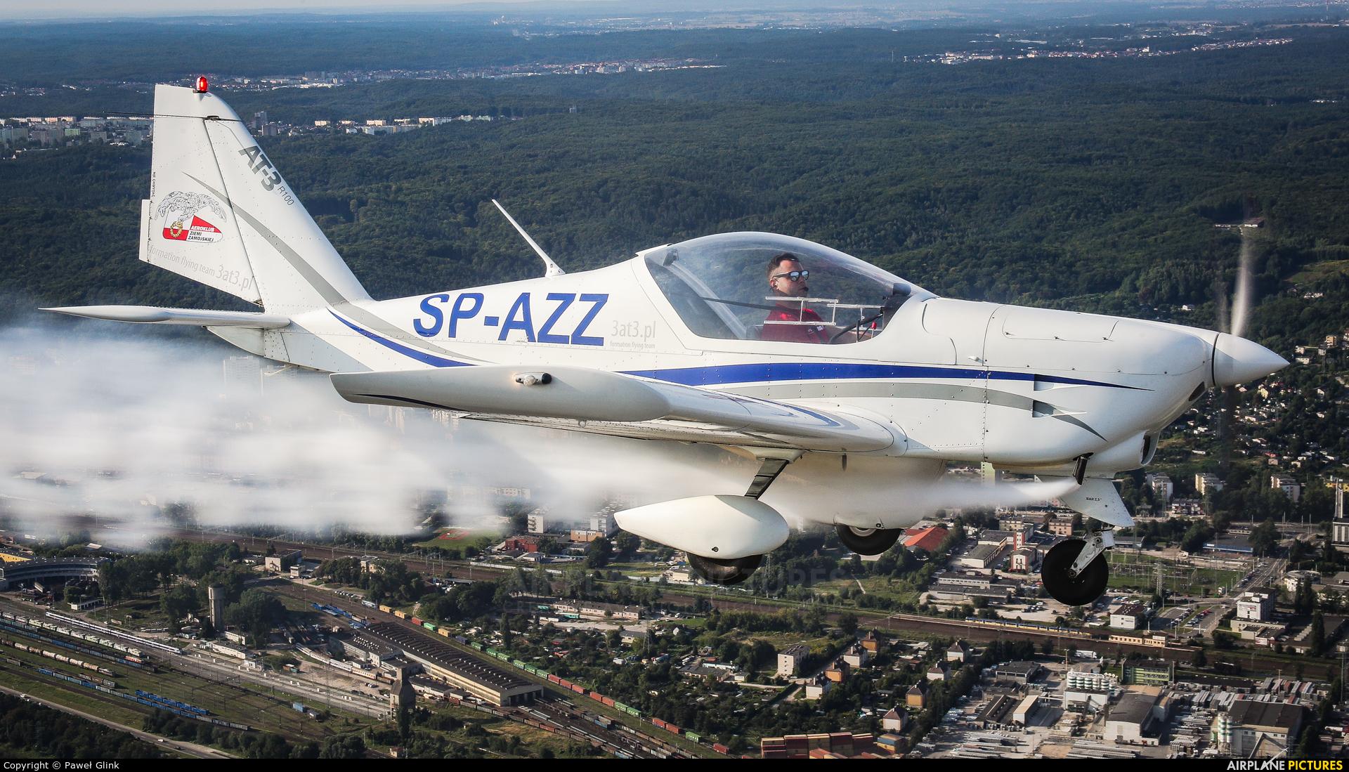 Aeroklub Ziemi Zamojskiej SP-AZZ aircraft at In Flight - Poland