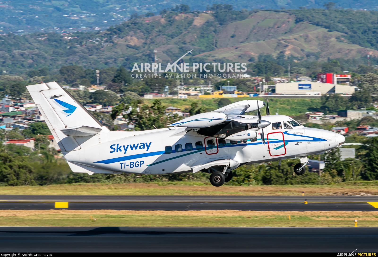 Skyway Costa Rica TI-BGP aircraft at San Jose - Juan Santamaría Intl