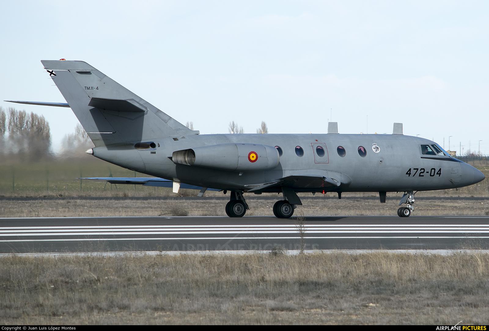 Spain - Air Force TM.11-4 aircraft at Valladolid - Villanubla