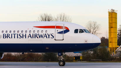 G-EUXC - British Airways Airbus A321