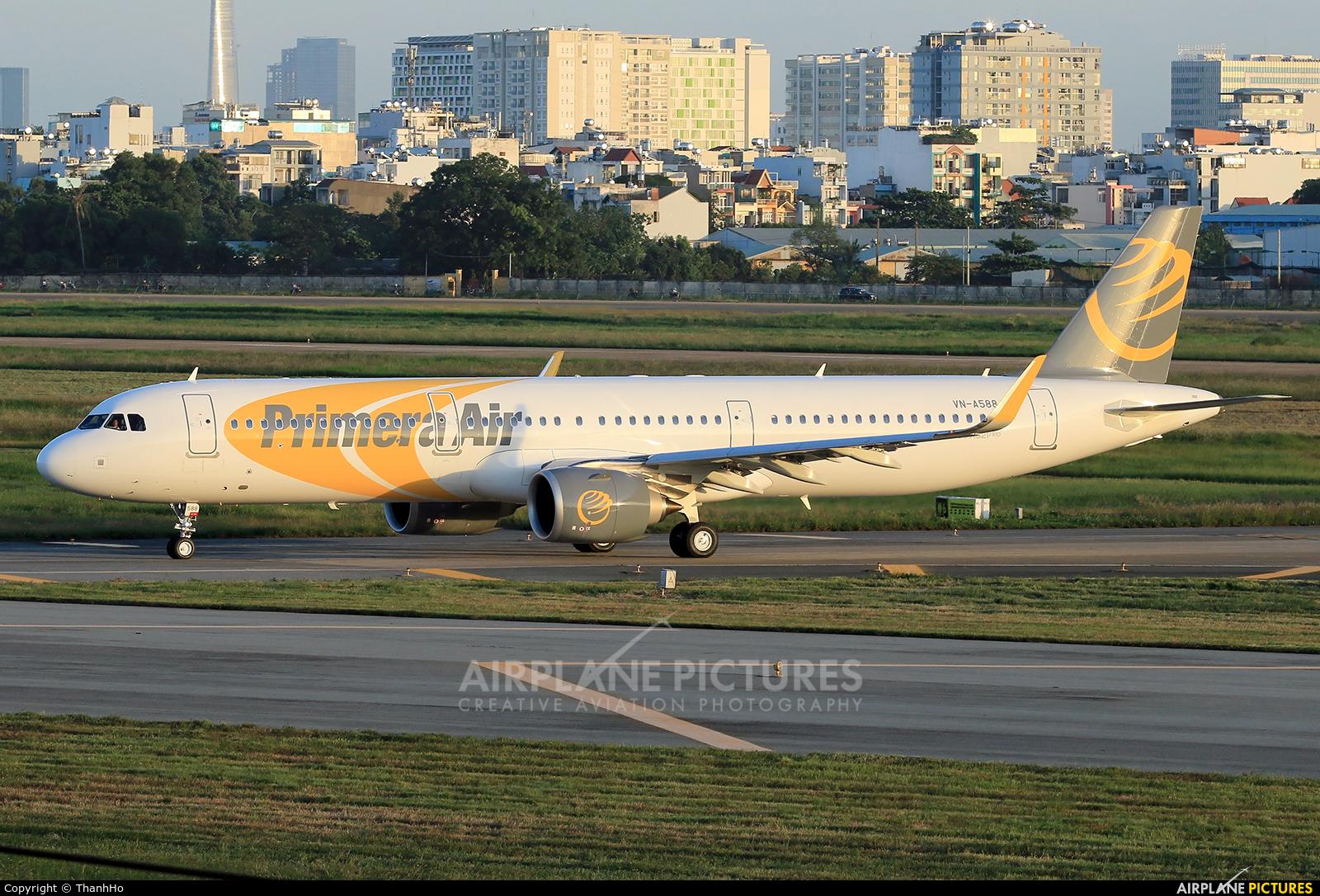 Bamboo Airways VN-A588 aircraft at Ho Chi Minh City - Tan Son Nhat Intl