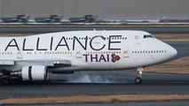 HS-TGW - Thai Airways Boeing 747-400 aircraft