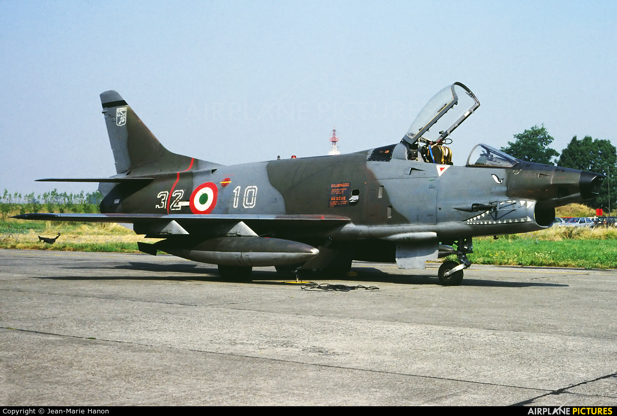 Italy - Air Force MM6453 aircraft at Liège-Bierset