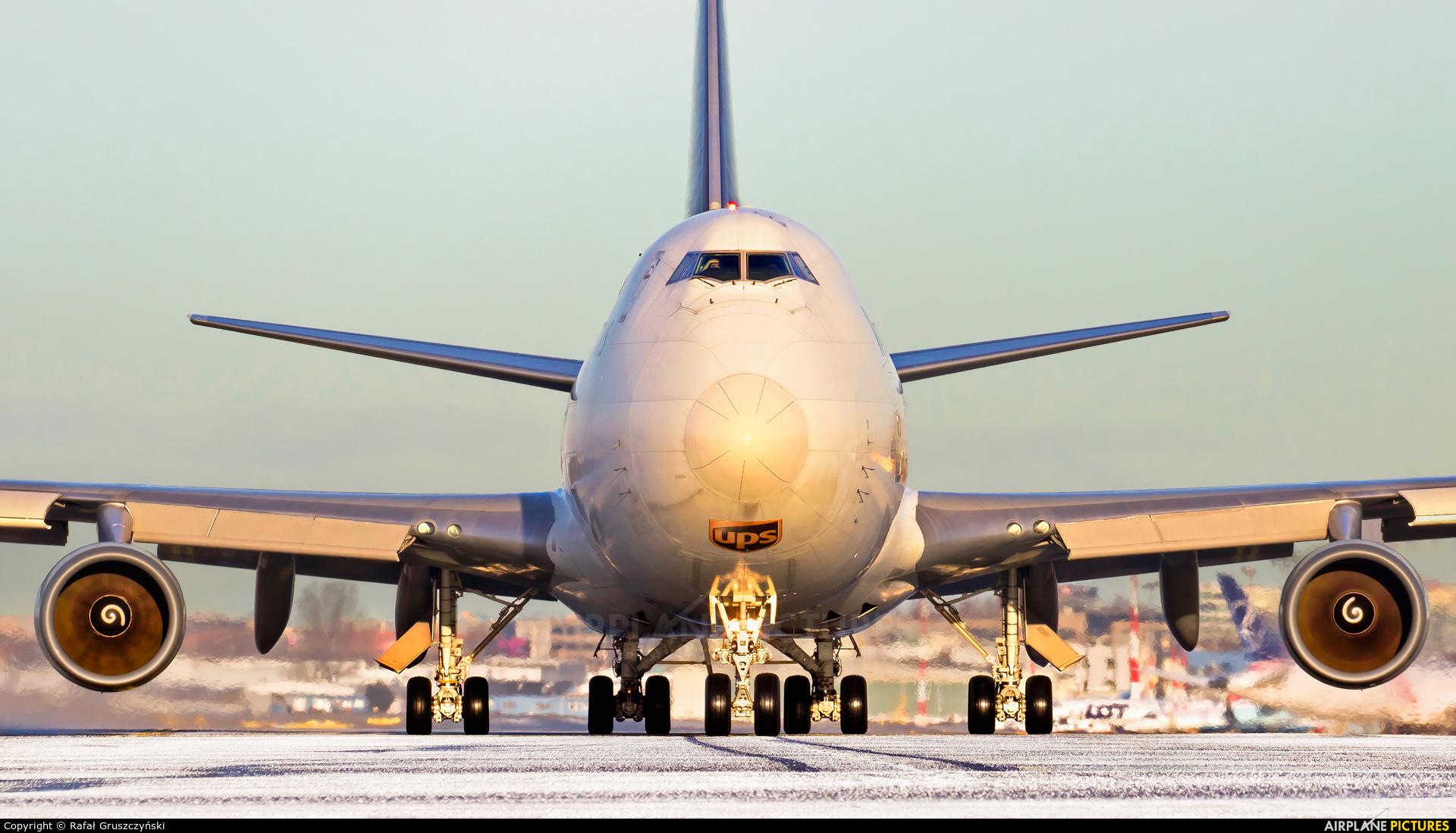 UPS - United Parcel Service N570UP aircraft at Warsaw - Frederic Chopin