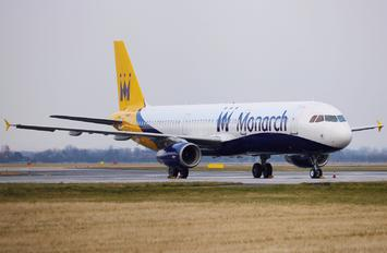 G-OZBZ - Monarch Airlines Airbus A321