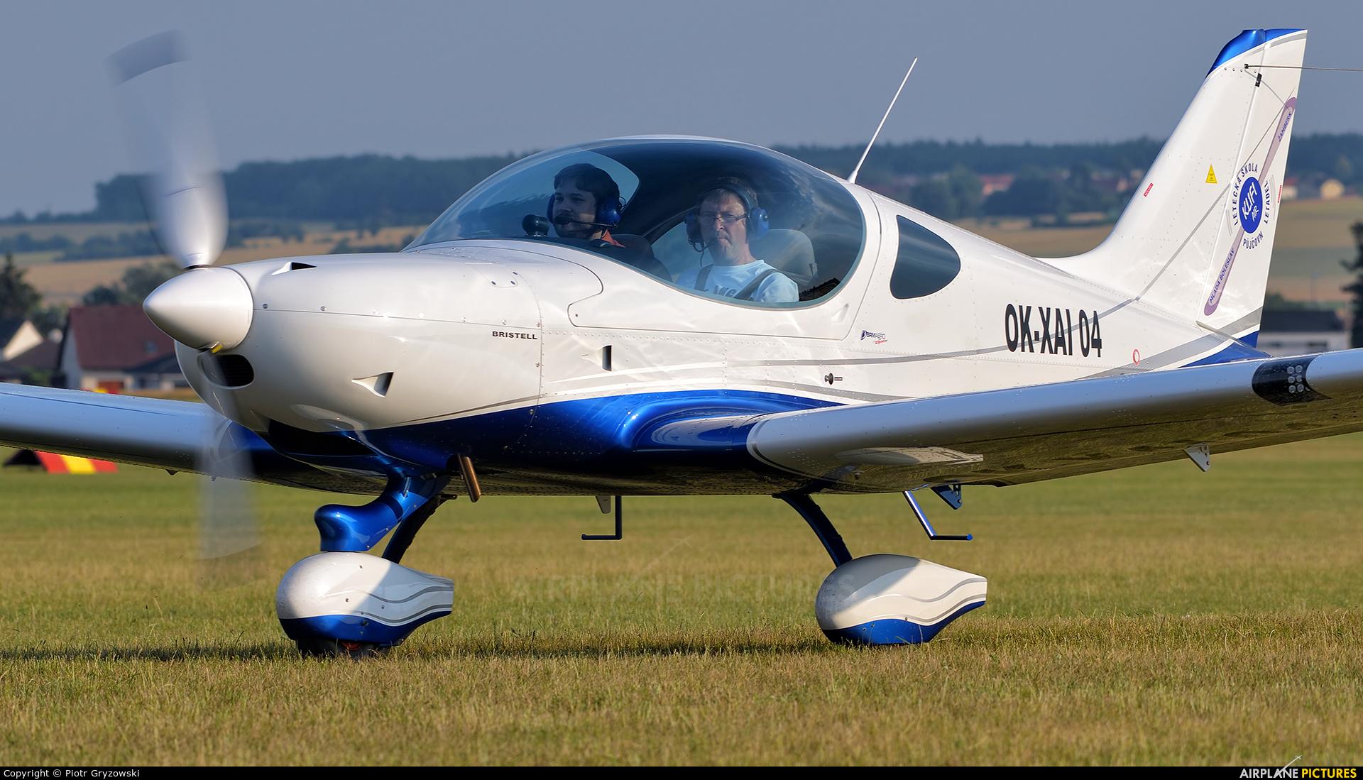 Private OK-XAI 04 aircraft at Mladá Boleslav