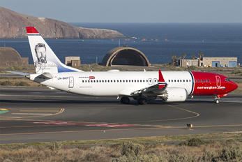 LN-BKF - Norwegian Air Shuttle Boeing 737-8 MAX