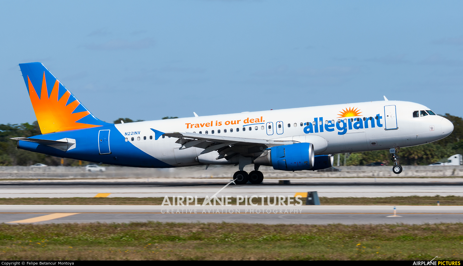 Allegiant Air N221NV aircraft at Fort Lauderdale - Hollywood Intl