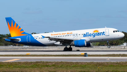 N221NV - Allegiant Air Airbus A320