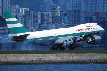 VR-HIB - Cathay Pacific Boeing 747-200