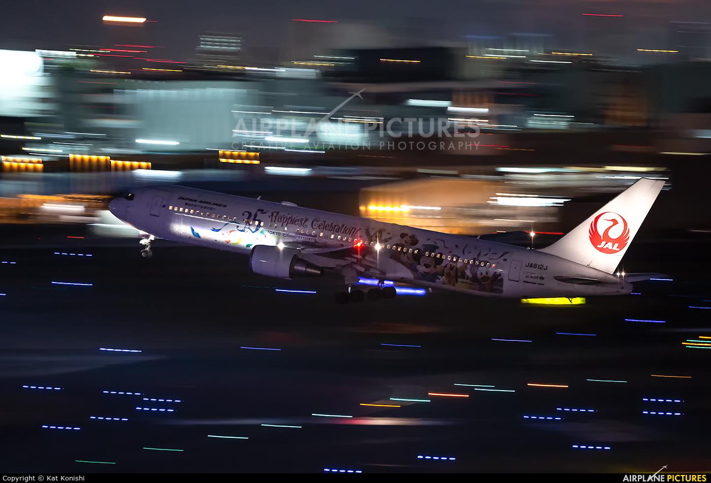 JAL - Japan Airlines JA612J aircraft at Tokyo - Haneda Intl