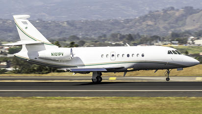 N101PV - Private Dassault Falcon 2000 DX, EX