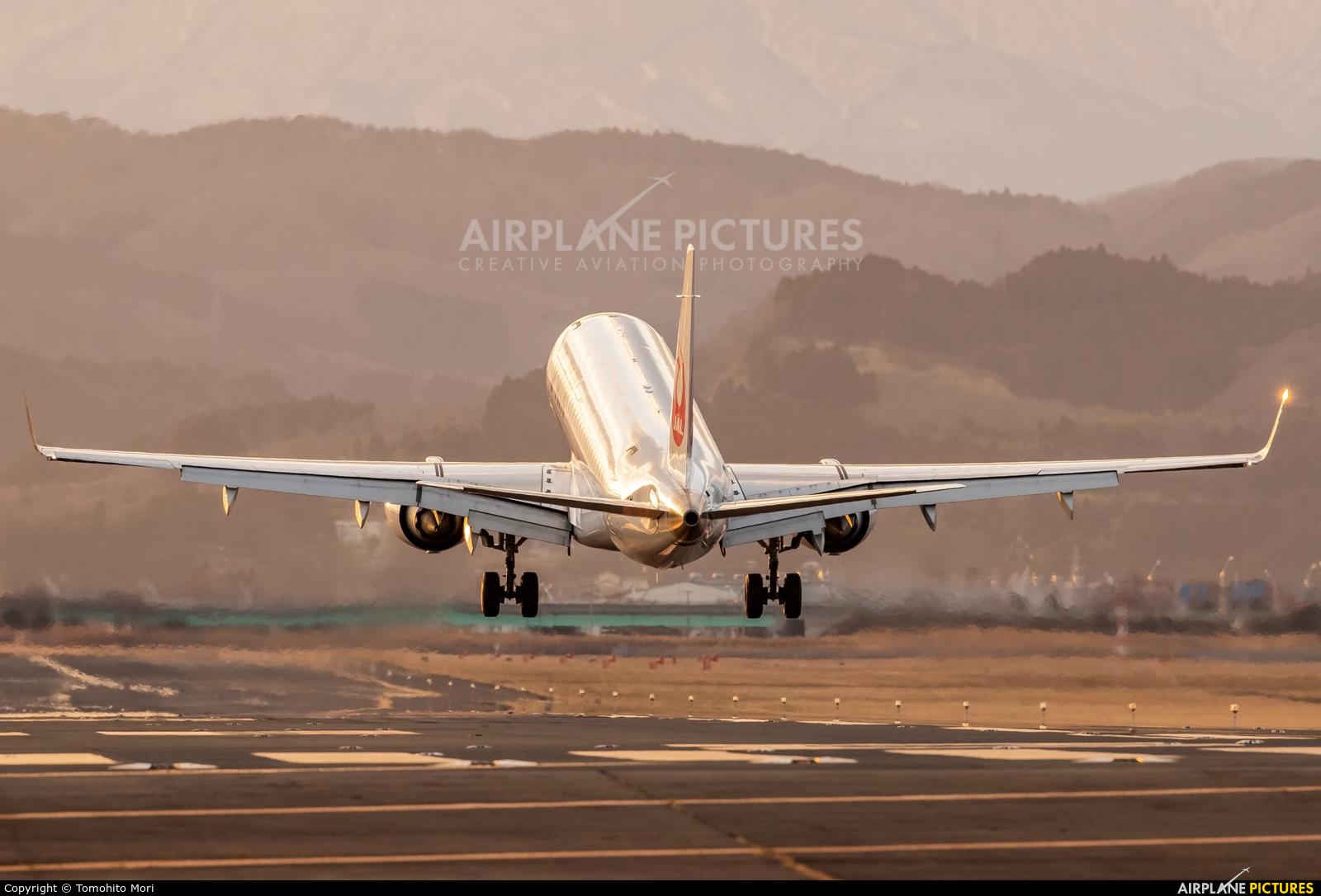 J-Air JA249J aircraft at Sendai