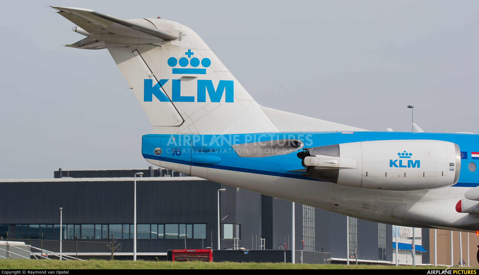 KLM Cityhopper PH-KZB aircraft at Amsterdam - Schiphol