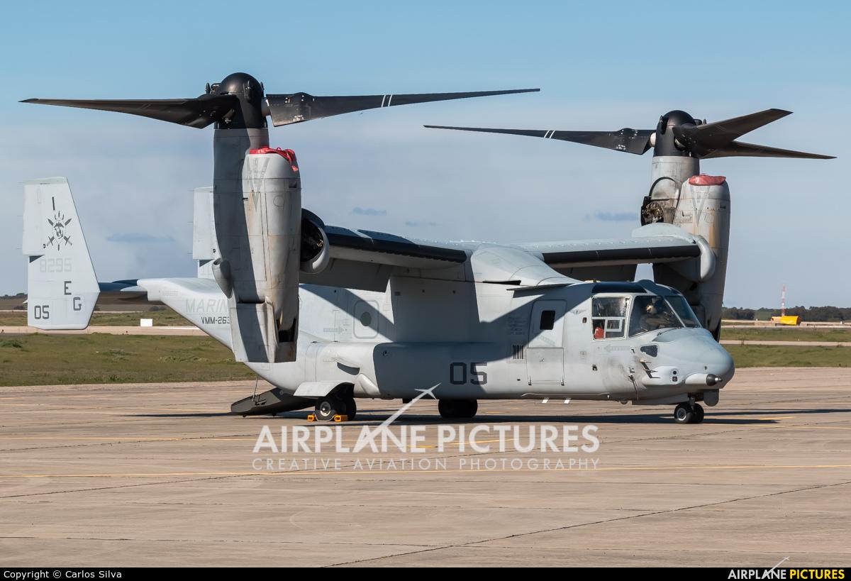USA - Marine Corps 168295 aircraft at Beja AB