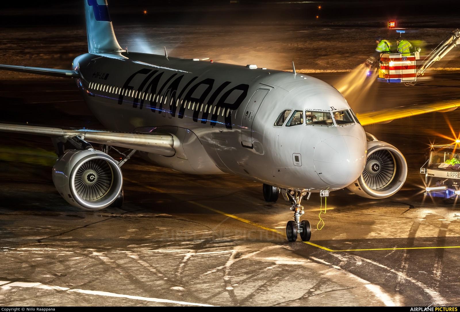 Finnair OH-LXL aircraft at Ivalo Airport