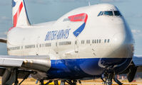 G-BNLN - British Airways Boeing 747-400 aircraft