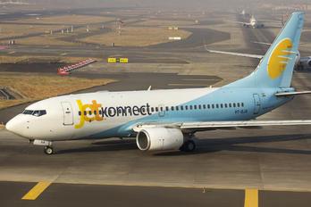 VT-SJA - JetKonnect Boeing 737-700