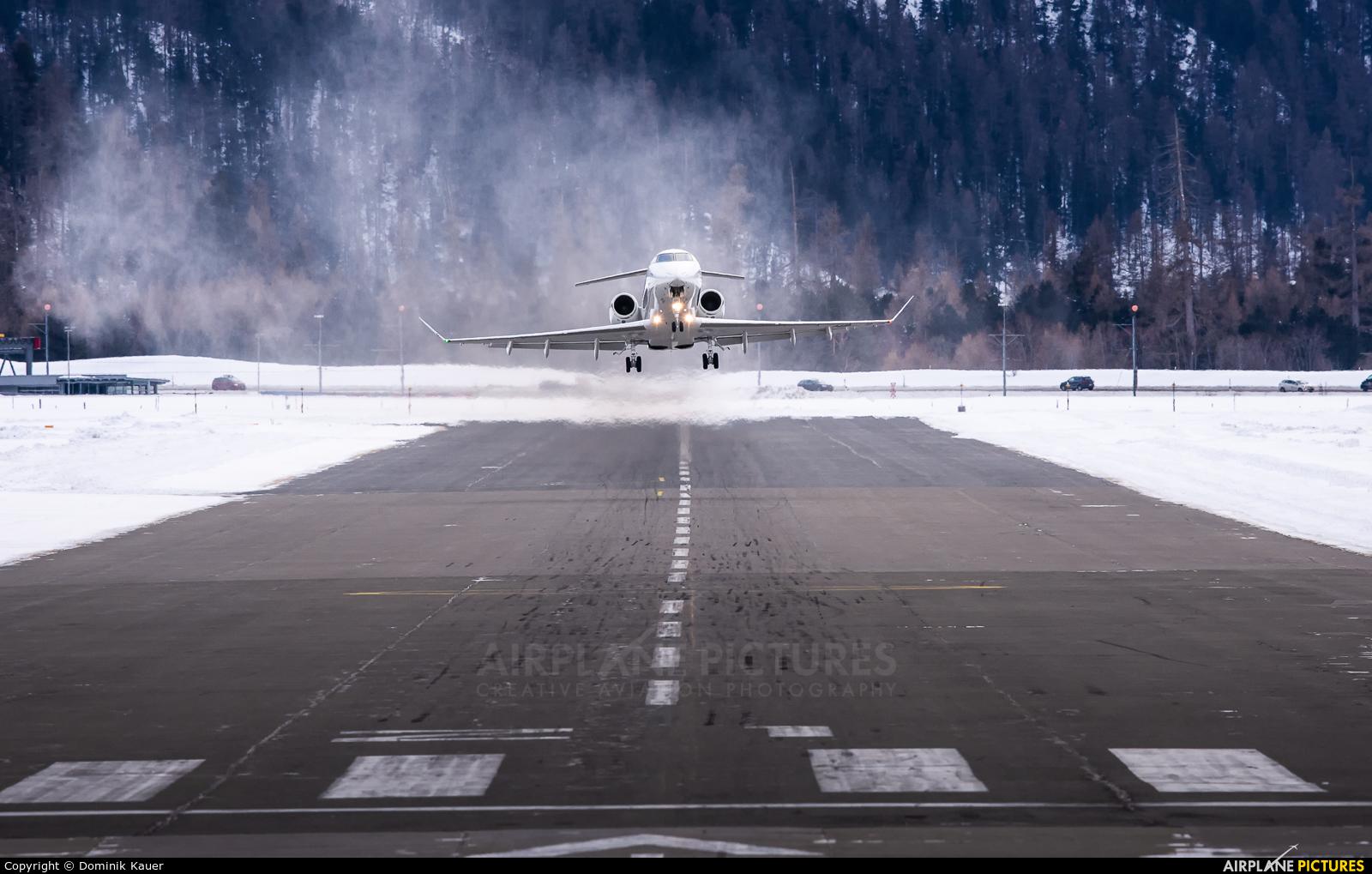 TAG Aviation HB-JLG aircraft at Samedan - Engadin