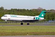 YR-FKA - Carpatair Fokker 100 aircraft