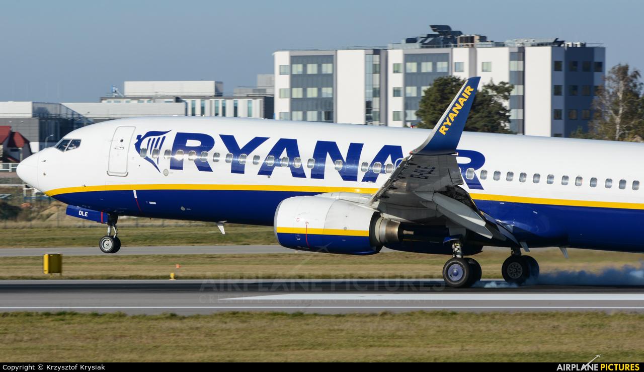 Ryanair EI-DLE aircraft at Gdańsk - Lech Wałęsa