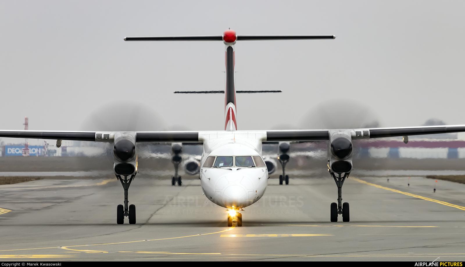 LOT - Polish Airlines SP-EQB aircraft at Warsaw - Frederic Chopin