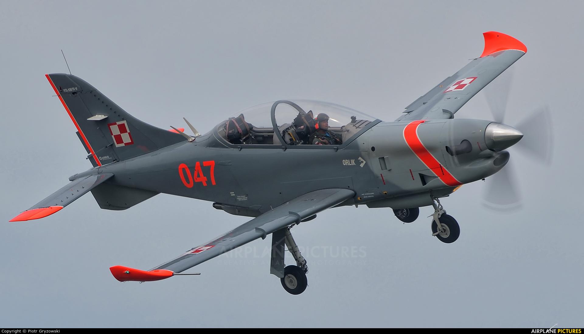 """Poland - Air Force """"Orlik Acrobatic Group"""" 047 aircraft at Varazdin"""