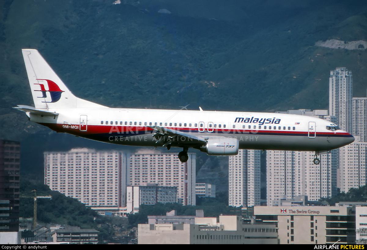 Malaysia Airlines 9M-MQI aircraft at HKG - Kai Tak Intl CLOSED
