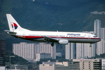 9M-MQI - Malaysia Airlines Boeing 737-400