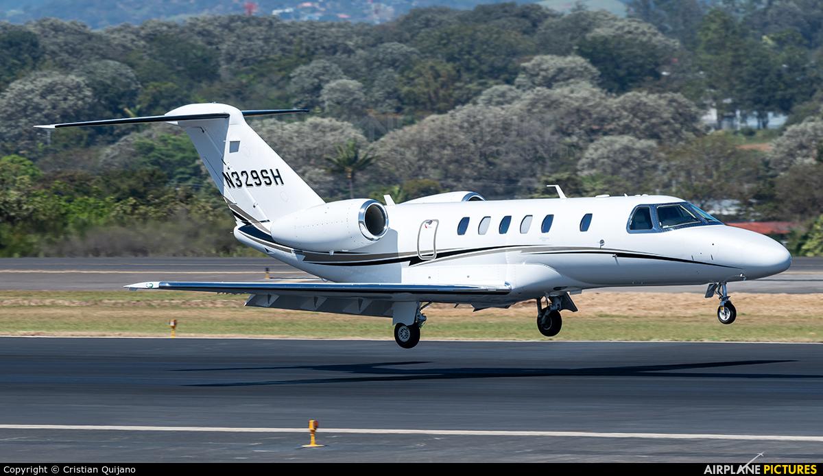 Private N329SH aircraft at San Jose - Juan Santamaría Intl