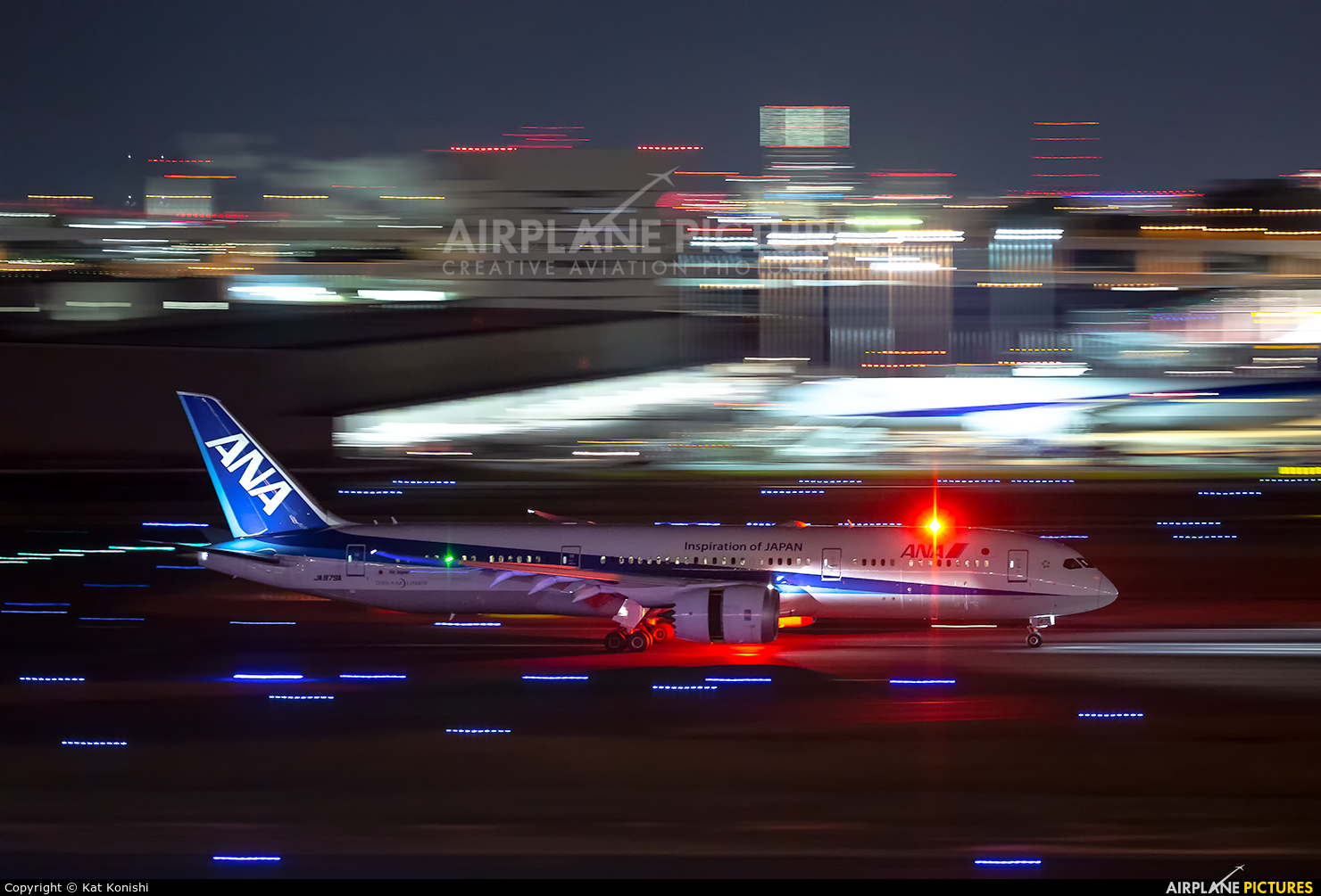 ANA - All Nippon Airways JA879A aircraft at Tokyo - Haneda Intl