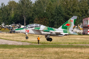 78 - Belarus - Air Force Yakovlev Yak-130