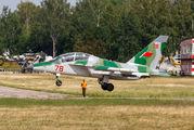 78 - Belarus - Air Force Yakovlev Yak-130 aircraft