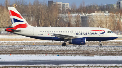 G-EUPF - British Airways Airbus A319