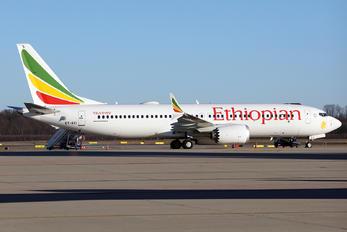 ET-AVI - Ethiopian Airlines Boeing 737-8 MAX