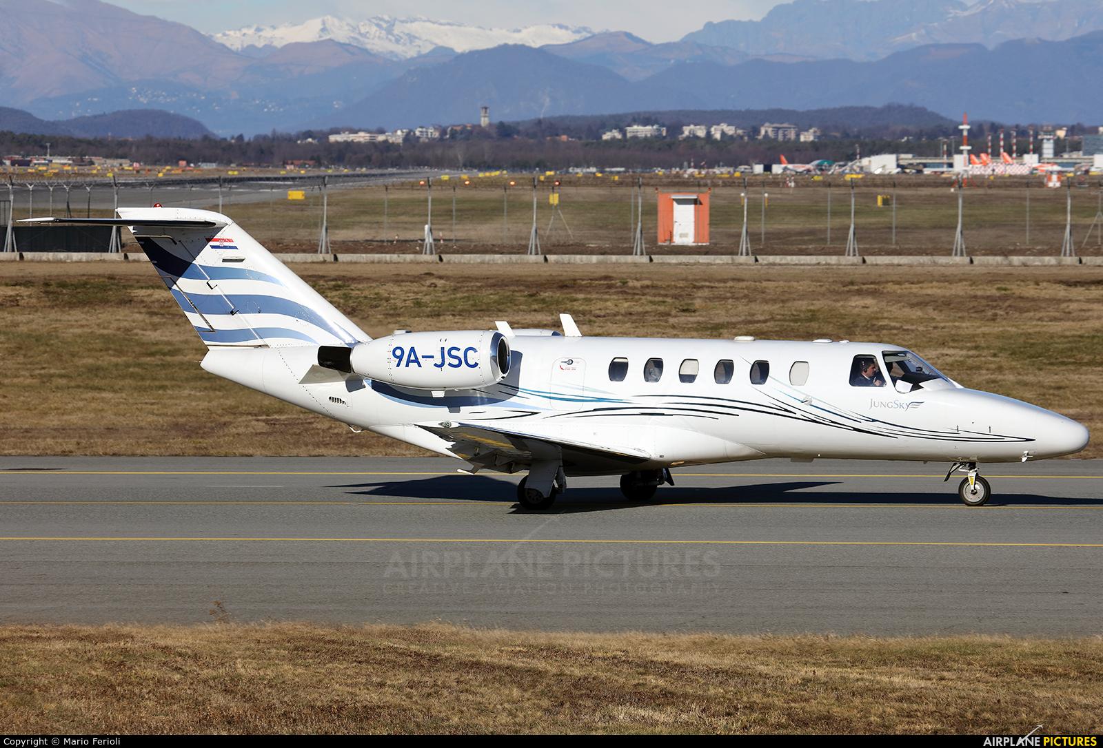 Jung Sky 9A-JSC aircraft at Milan - Malpensa